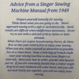 sewing advice