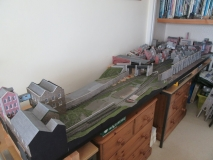 Tizer's dismantled model railway