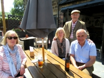 Chris, Vicki, Mick and SG Ilkley June 2019