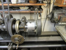 Buffing wheel on JP lathe