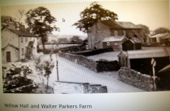 Yellow hall and Parker farm