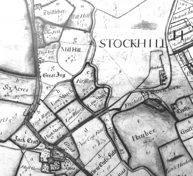 BRACEWELL AND STOCK 1717 MAP